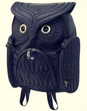 Photo of Amazing Owl, is a backpack with a lot to say very creative! Owl Incr …