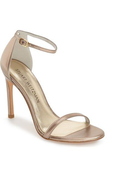 5bb7237df1b Stuart Weitzman  Nudistsong  Ankle Strap Sandal (Women) available at   Nordstrom