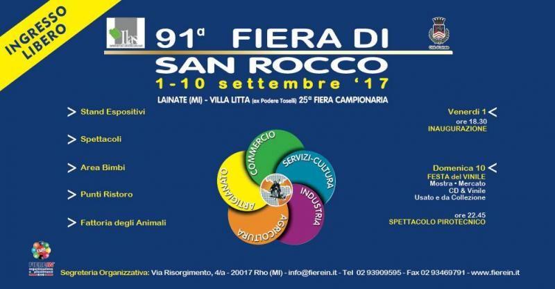 Fiera di San Rocco a Villa Litta settembre 2017 Eventi