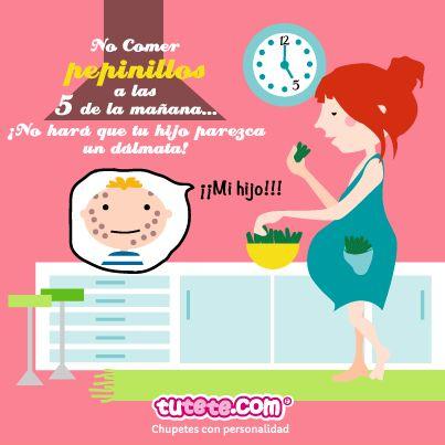 0153a4197 Mitos y verdades sobre el embarazo  Antojos!!