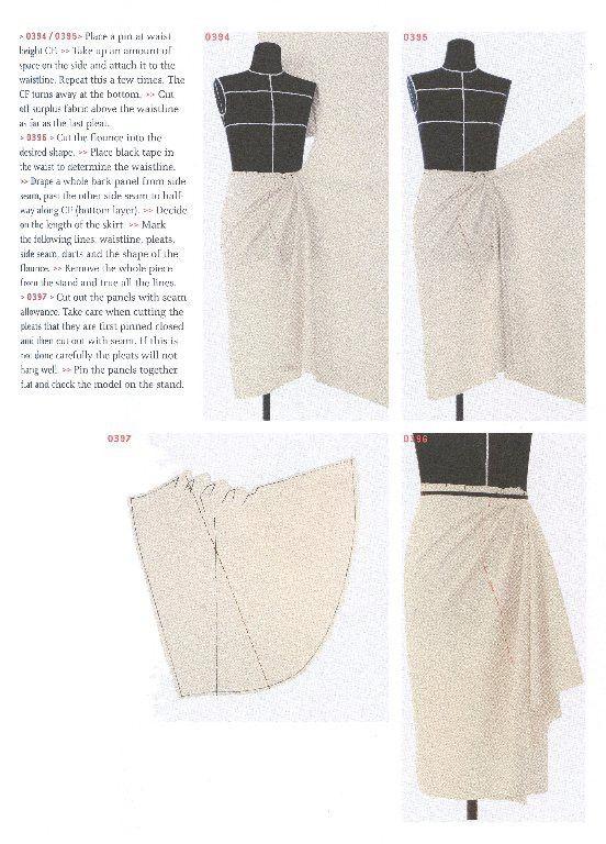 Draping art and craftsmanship in fashion design 93