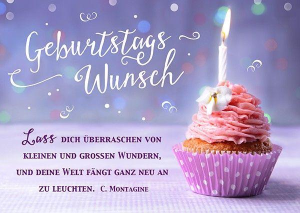 Postkarte - Geburtstagswunsch