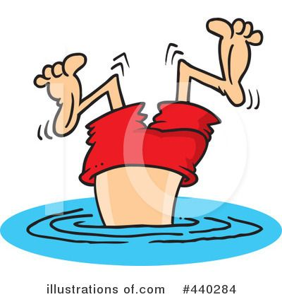 Clip Art Children Swimming