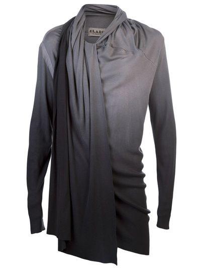 9286e79c424ef CLADE - Drape ombre tunic MENS - $275 | FASHIONPLATE in 2019 ...