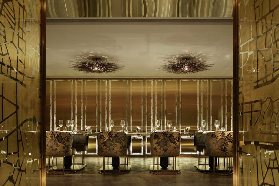Dalloyau - Hong Kong - Inverse Lighting Design - Image Courtesy of The Restaurant and Bar Design Awards