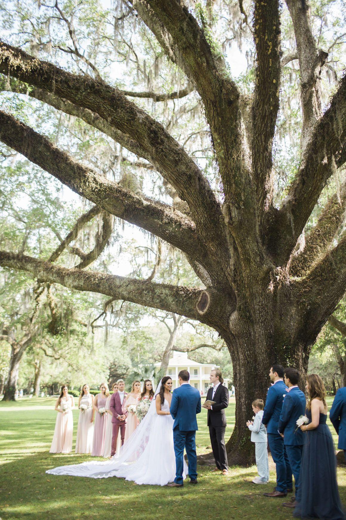 Eden Gardens State Park Wedding Gina and Alex Seaside