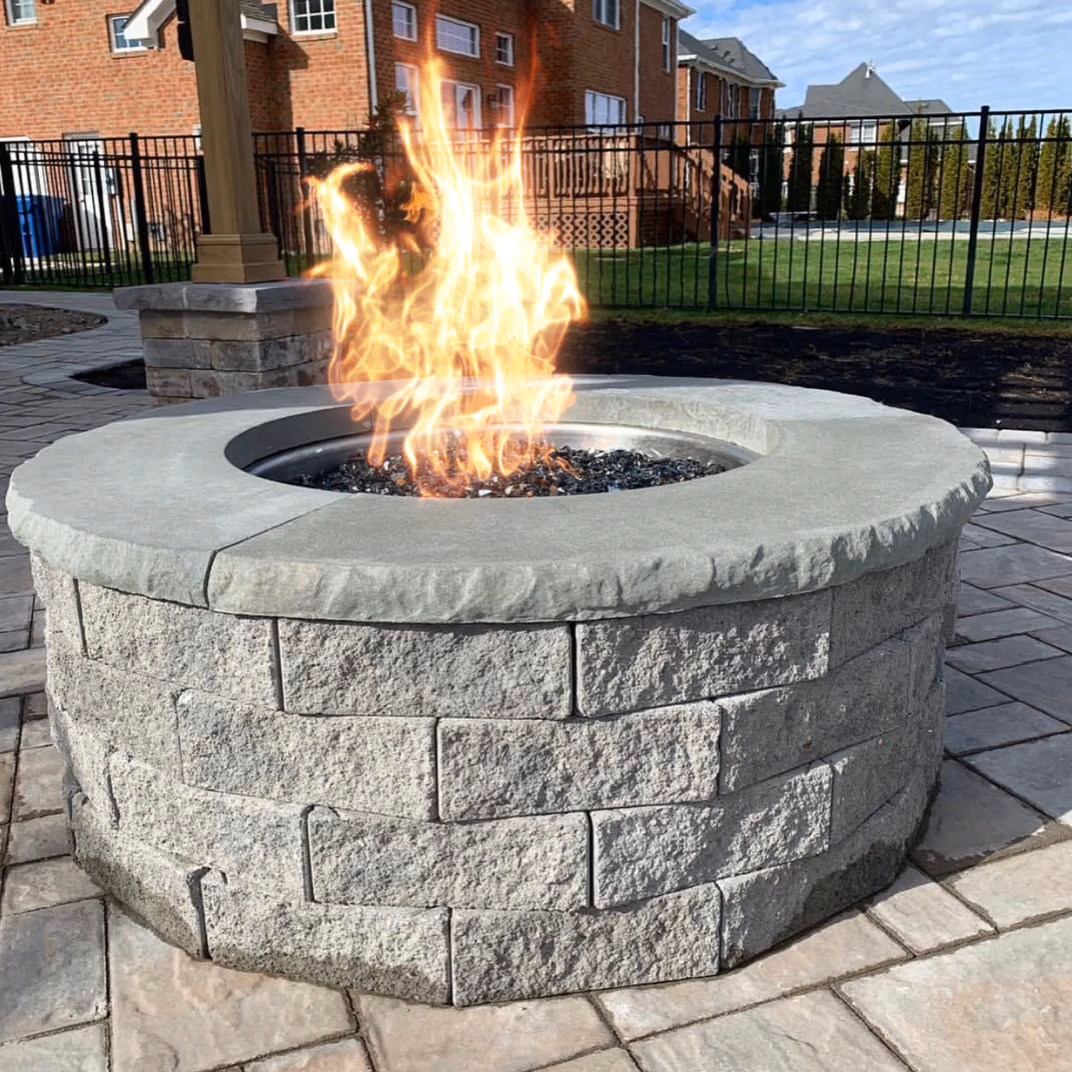 Photo of A firepit is a great way to stay warm on those cool Summer nights! Get the best …