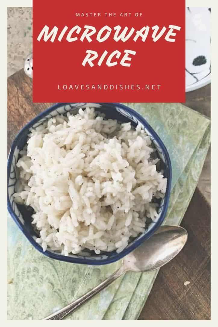how to microwave rice reheat