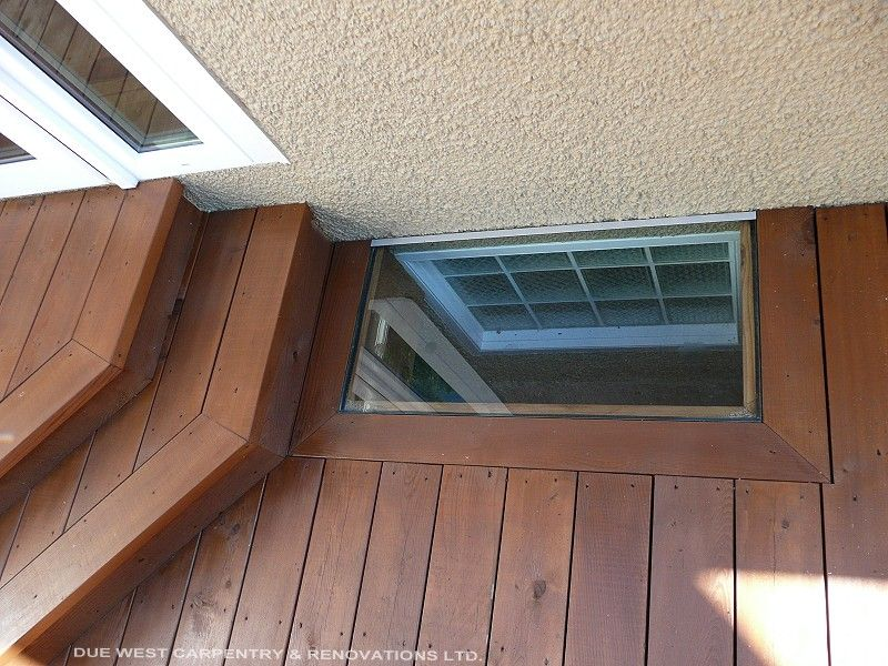 how to build a deck around a basement window google search