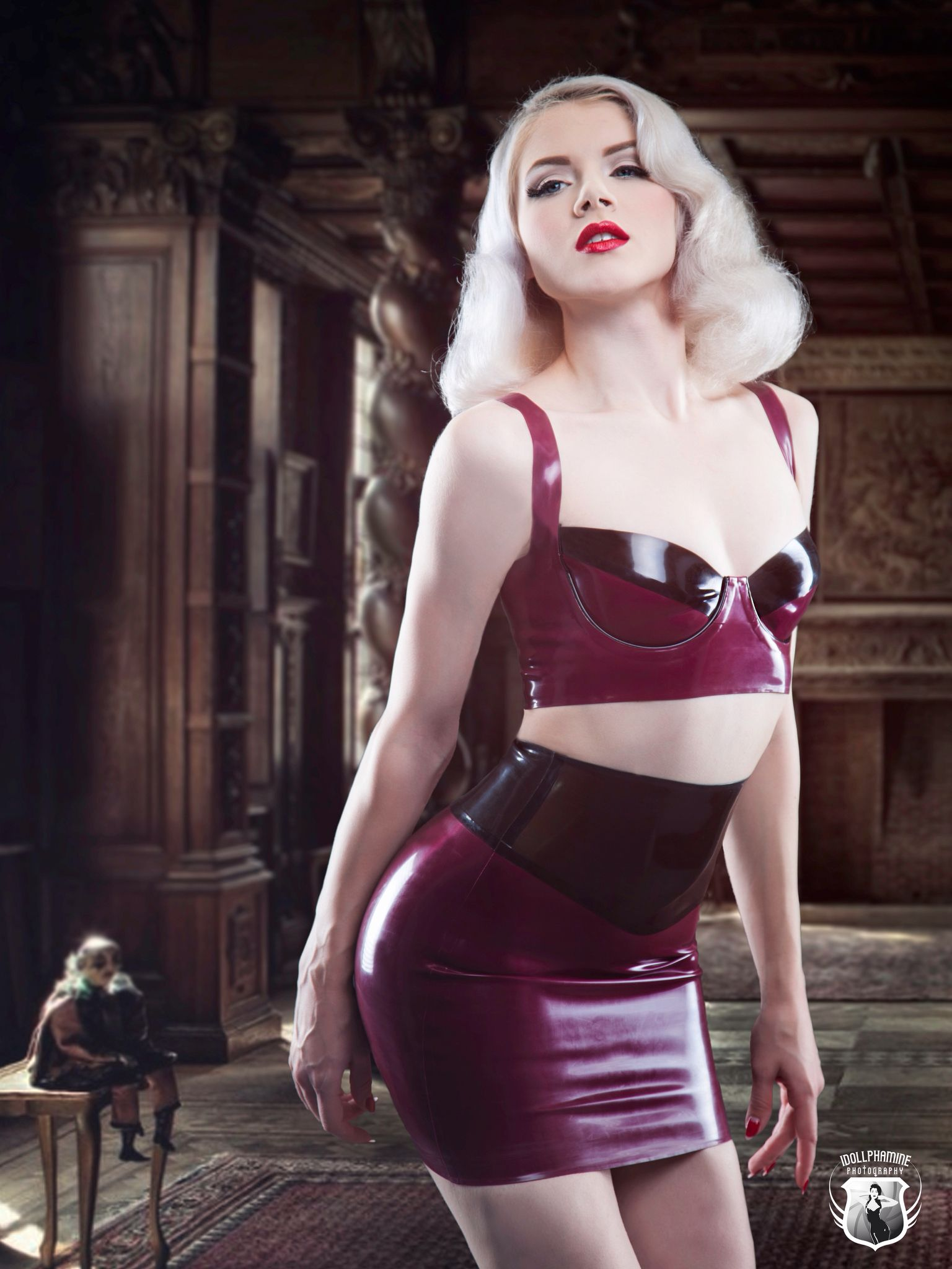 aa2d4360ec Another stunning miss mosh shot by idollphamine - wearing mico couture latex  and shot in Hollywood USA by idollphamine