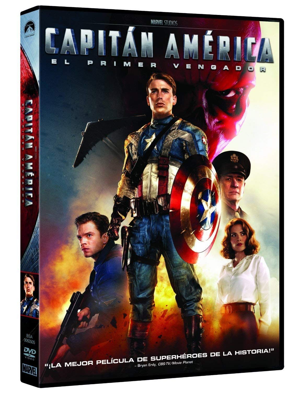 Capit N Am Rica El Primer Vengador Dvd El Rica Capit Dvd Capitan America Peliculas Marvel Capitan America Marvel