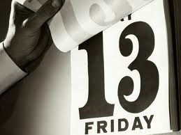 """Maybe just a little """"Friday the 13th"""" thing hanging somewhere."""