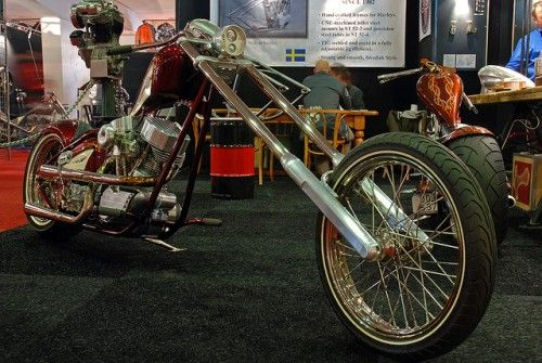 The Swedish Chopper | Totally Rad Choppers