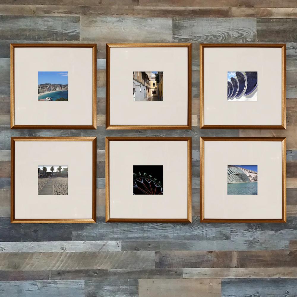 Copper 6 Piece Frame Set By Studio Decor Gold Frame Gallery Wall Studio Decor Frame Set