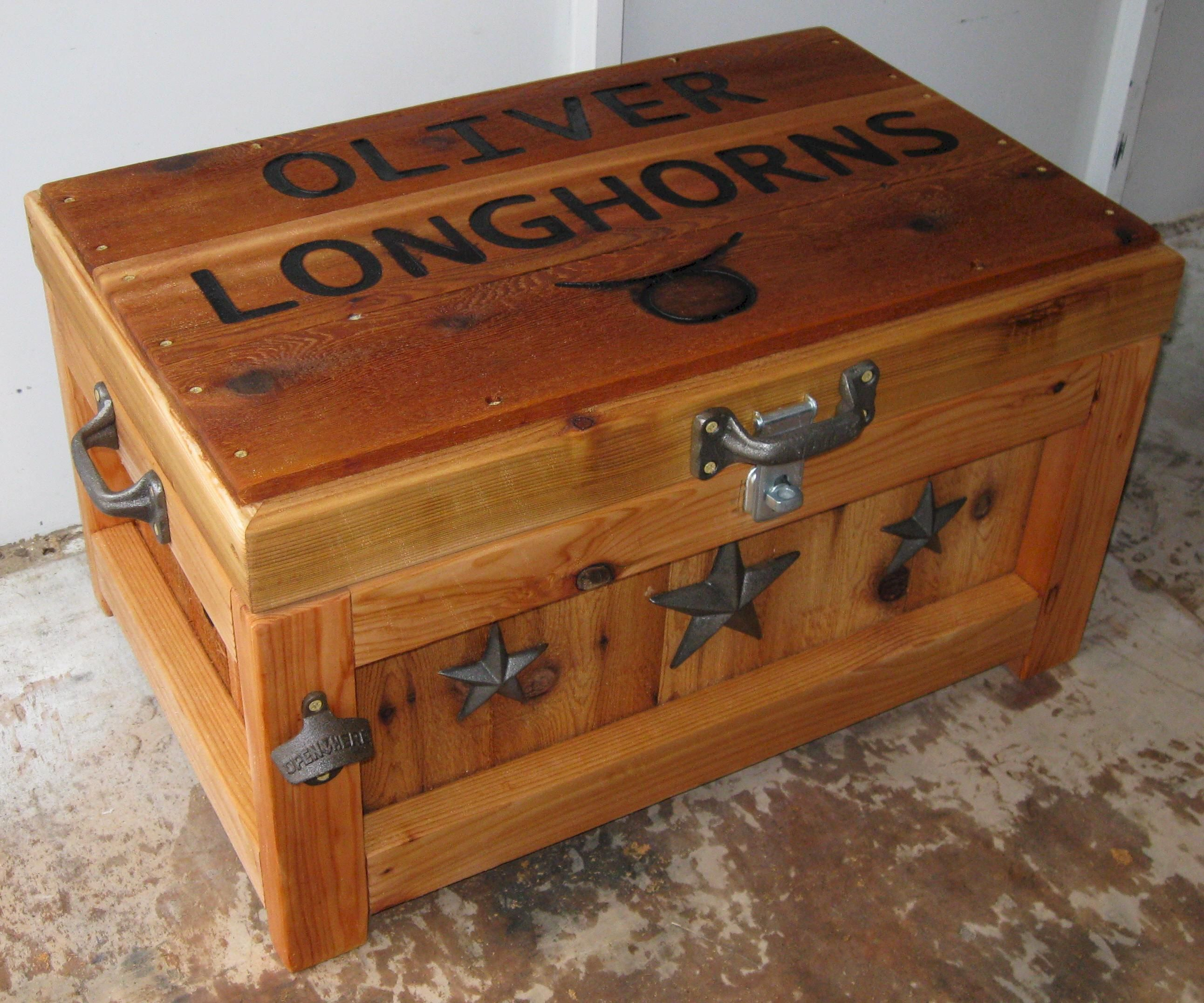 Antique Wooden Ice Chest Plans | New Home Decorations More