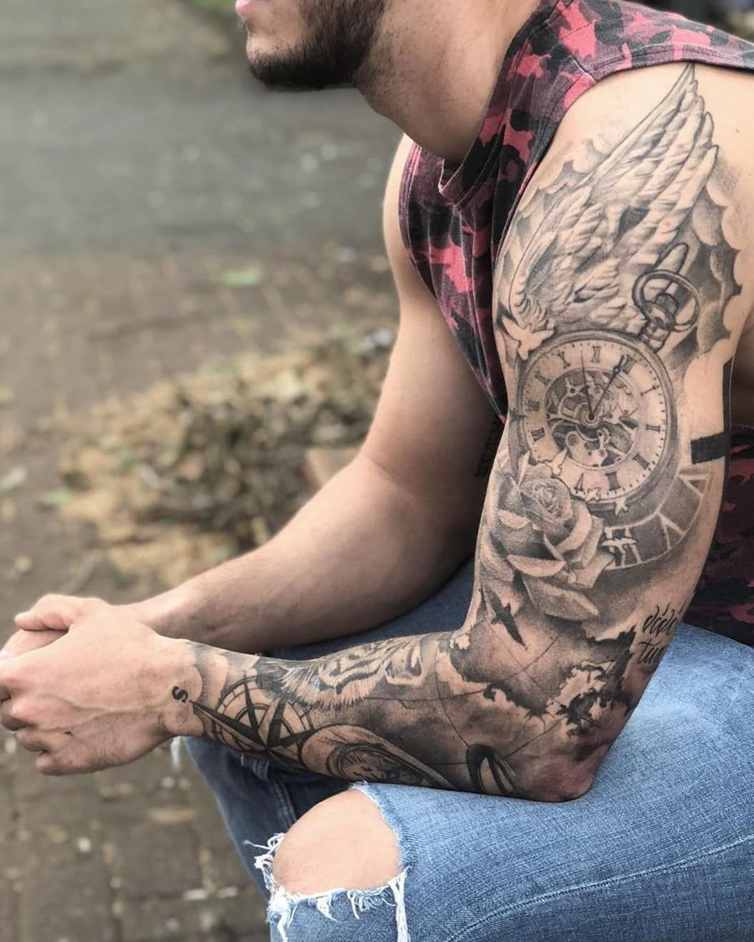Find The Tattoo Artist That S Right For You Alpaca Ink Find The Tattoo Artist That S Right In 2020 Tattoo Ideen Manner Arm Tattoo Ideen Manner Manner Tattoo Ideen