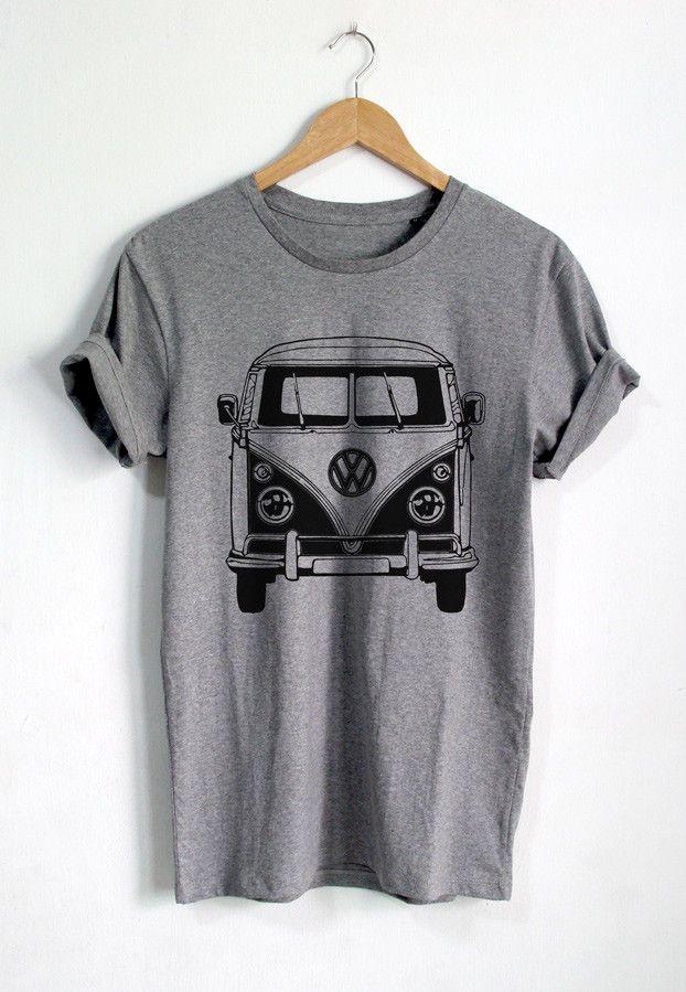 Hippie Van Peace Men/'s Tee Image by Shutterstock
