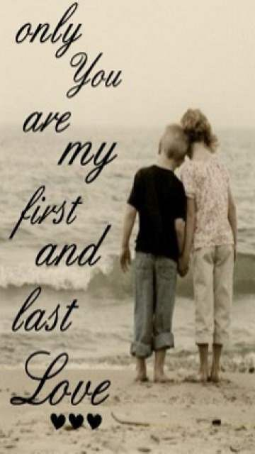 You Are My First And Decisive Love Status