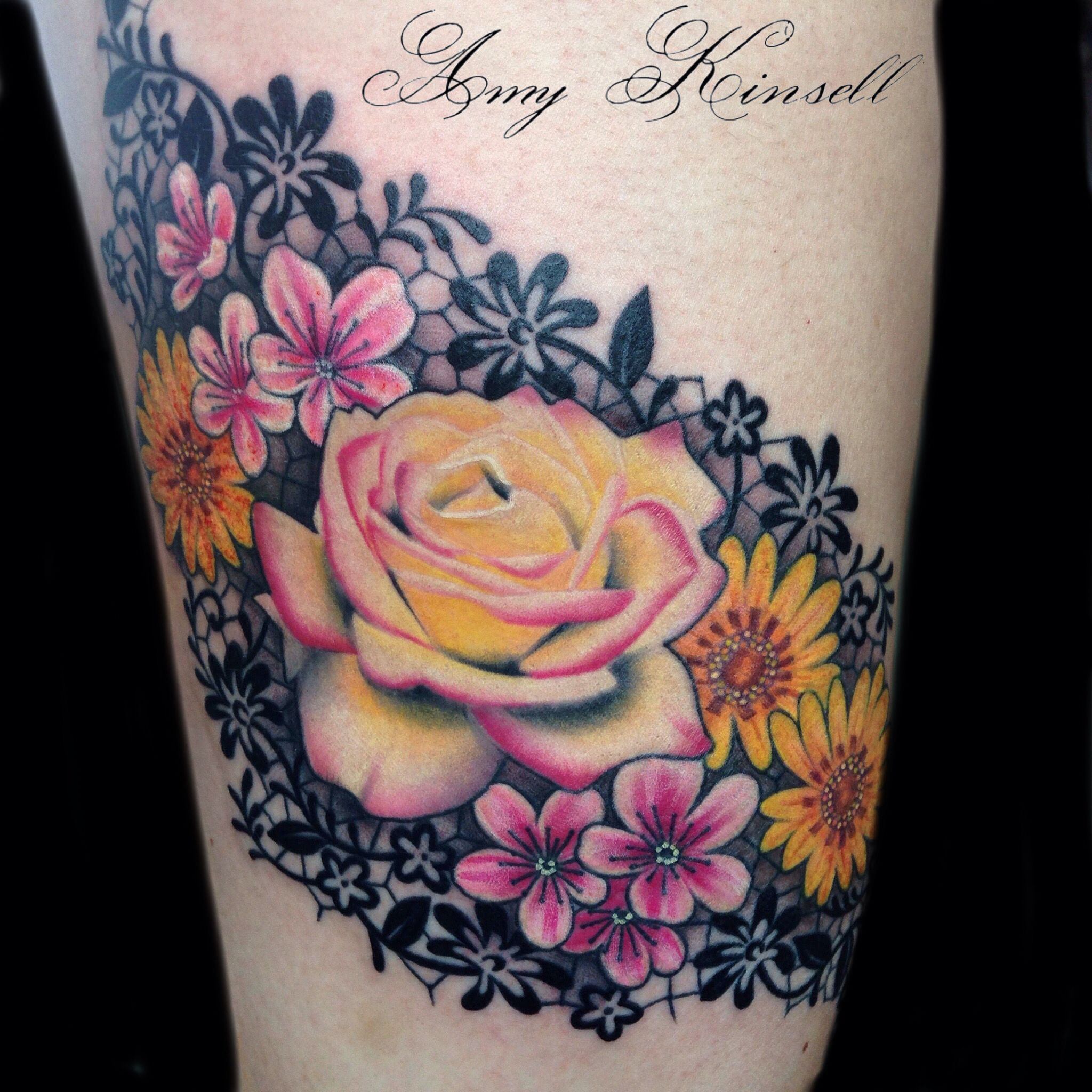 Roses and lace flowersu butterfly tats pinterest tatting
