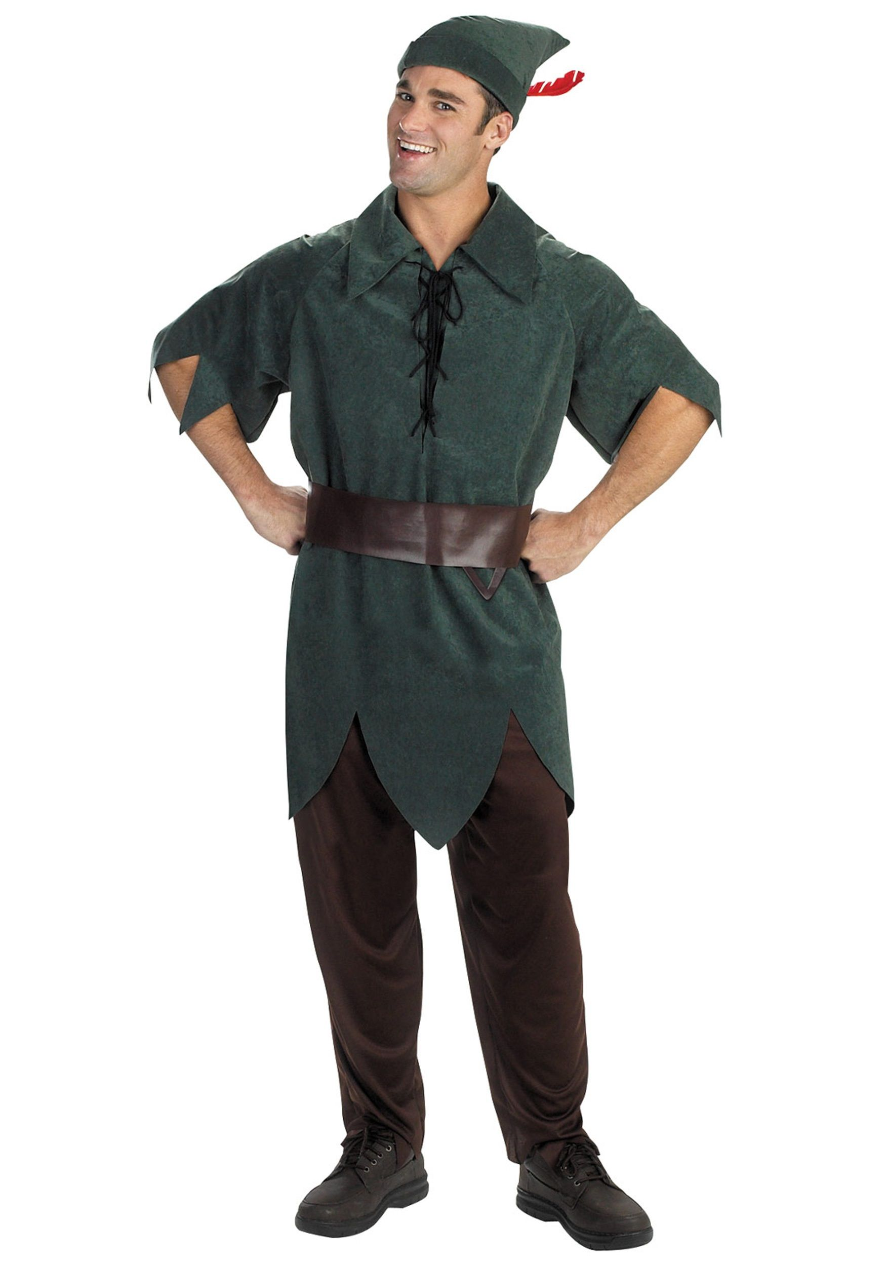 Adult Peter Pan Costume | Peter pan costumes, Costumes and Diy ...