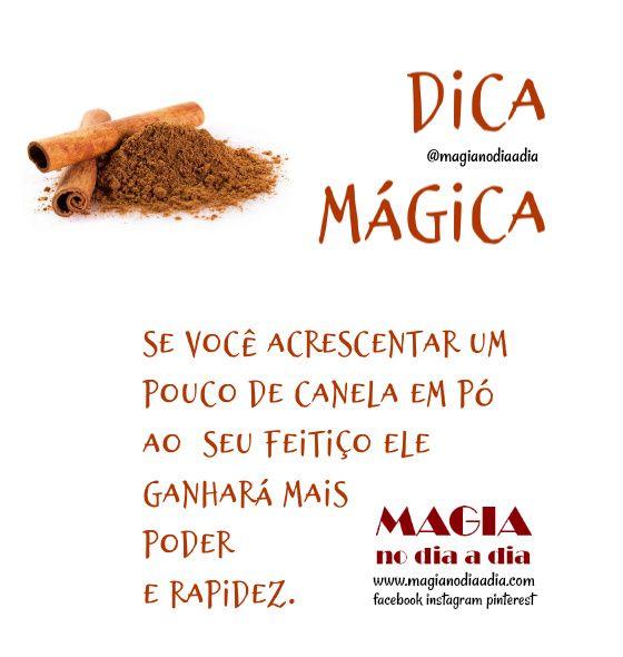 Dica Mágica: Canela em Pó