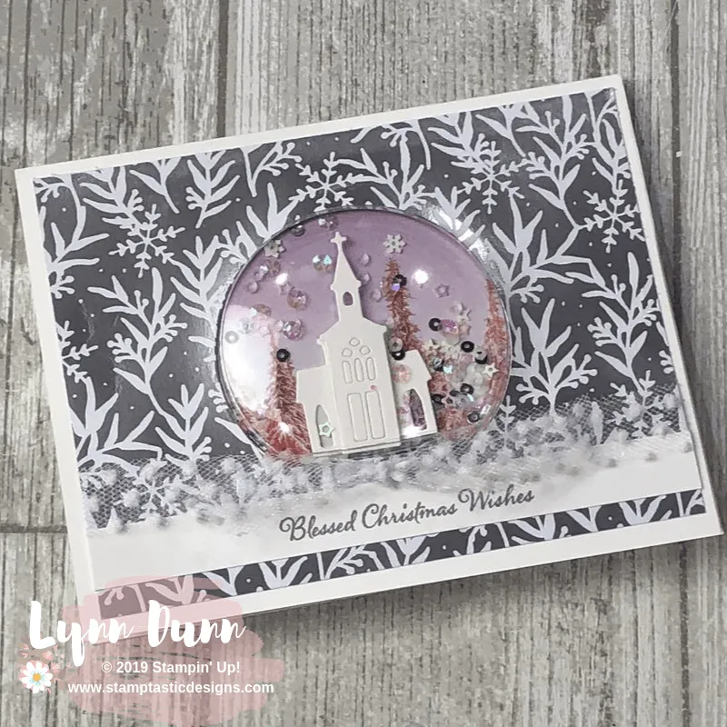 Still Scenes Snow Globe Shaker Cards (With images