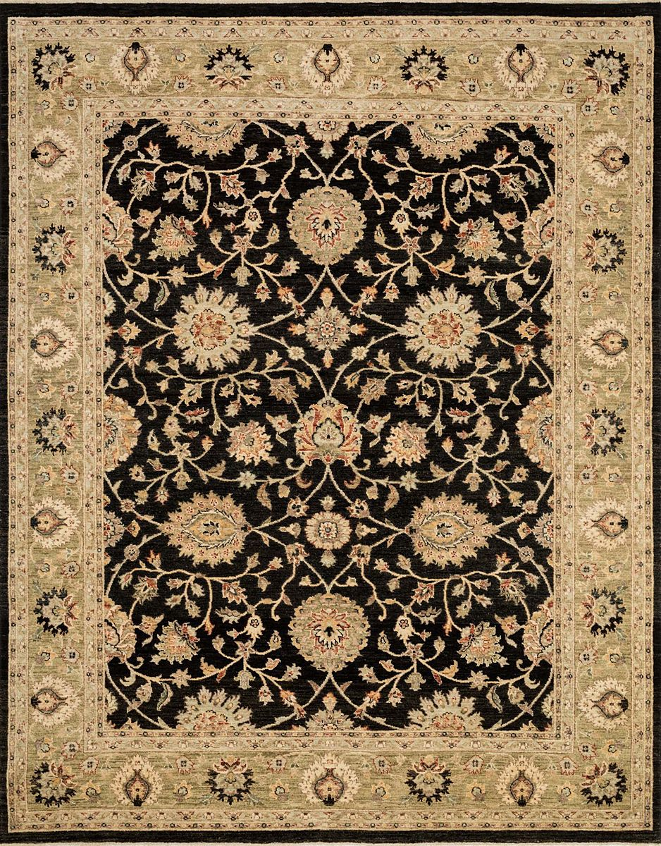 Loloi Majestic Mm 01 2 0 X 3 0 Black Ivory Area Rug Traditional Rugs Black Rug Rugs