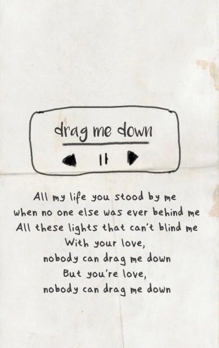 One Direction ~ Drag me down. on We Heart It - - One Direction ~ Drag me down. on We Heart It.