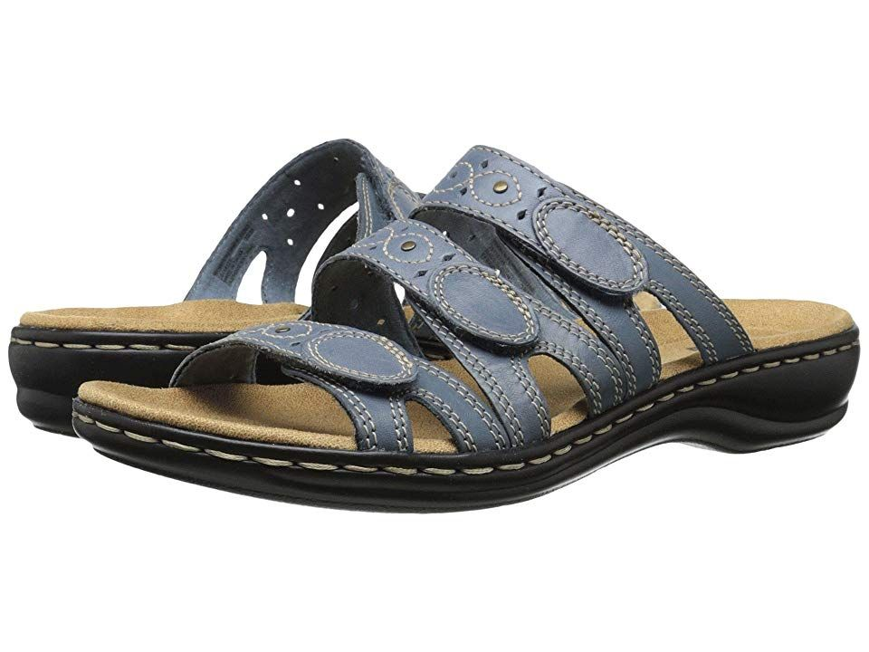 25b2688b262 Clarks Leisa Cacti Q (Captian Blue) Women s Sandals. The Leisa Cacti Q is