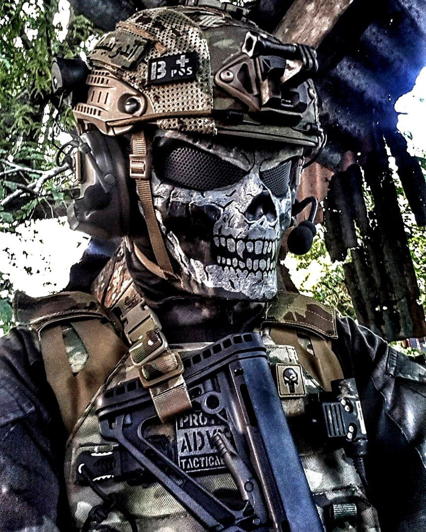 картинки призрак солдат