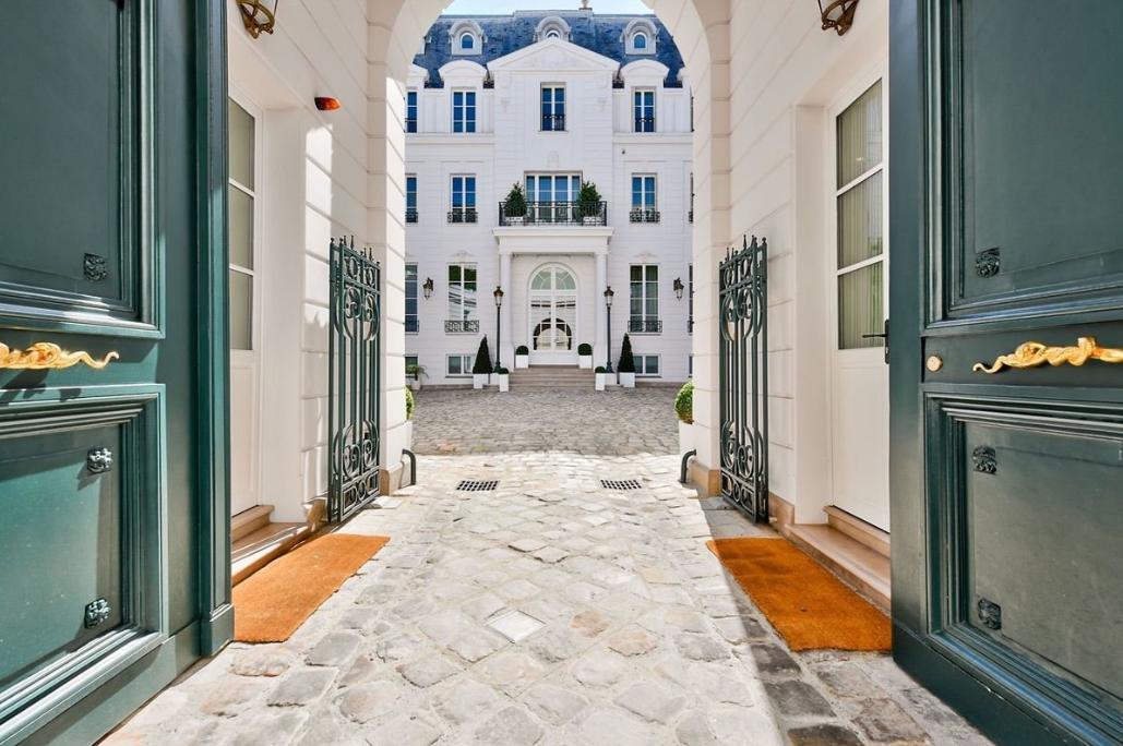 Особняк в париже дома за рубежом передача