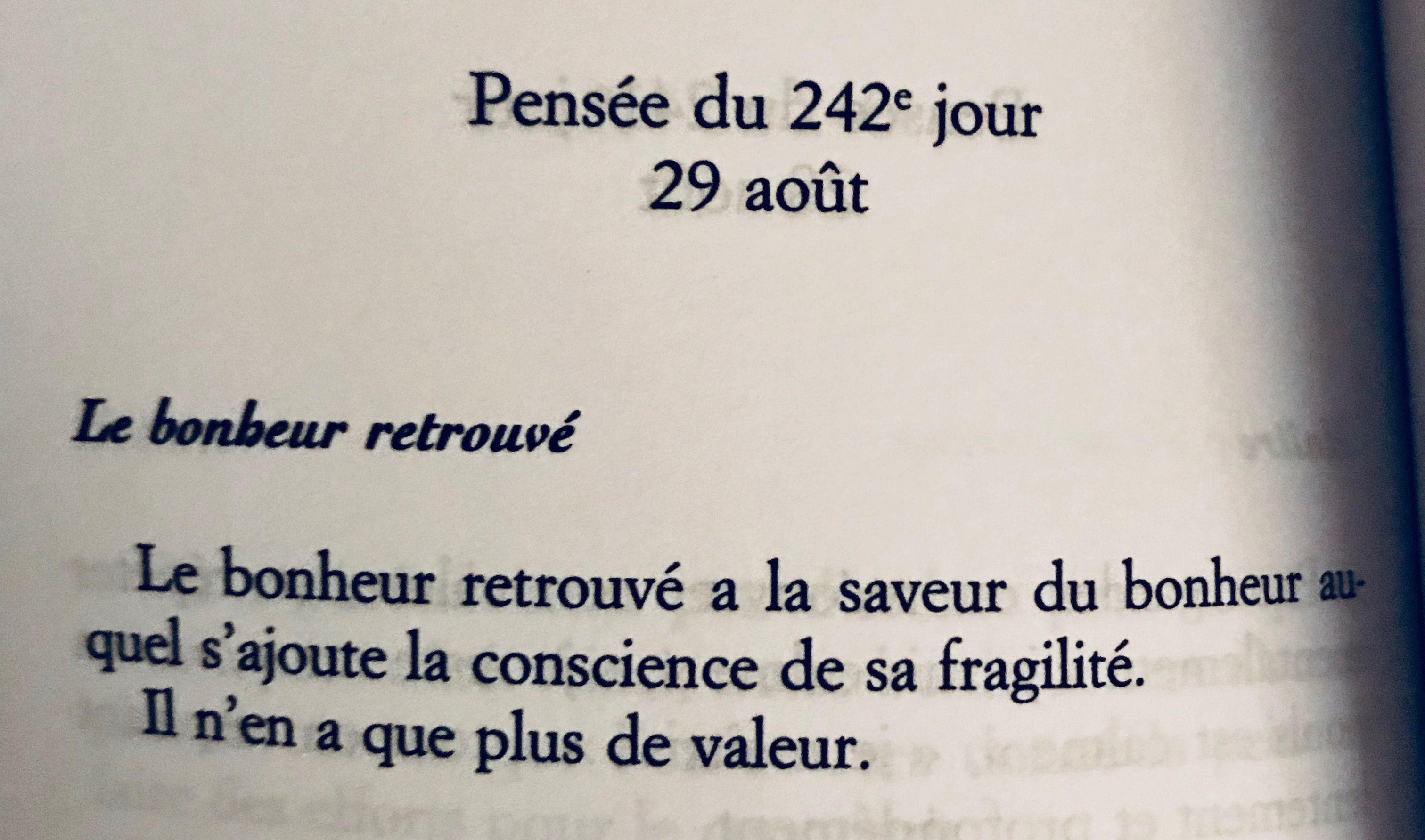 Fragilite Du Bonheur Mots D Espoir Citation Citation Pensee