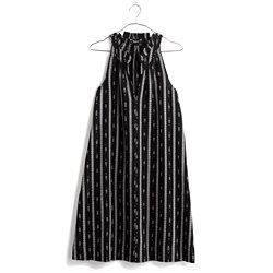 Ikat Stripe Dress