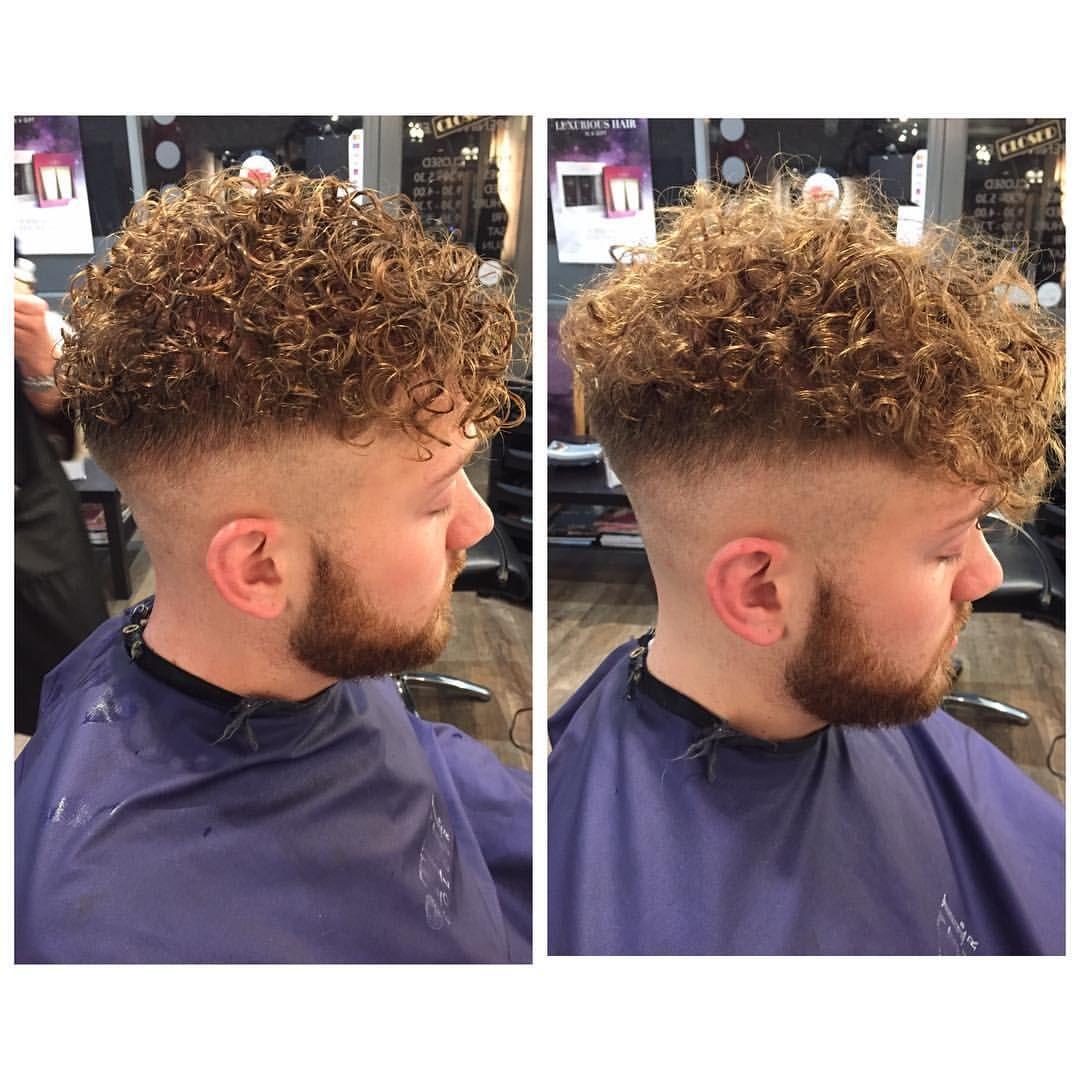 Merm Man Perm Lef Perm Hair Men Permed Hairstyles Curly Hair Fade