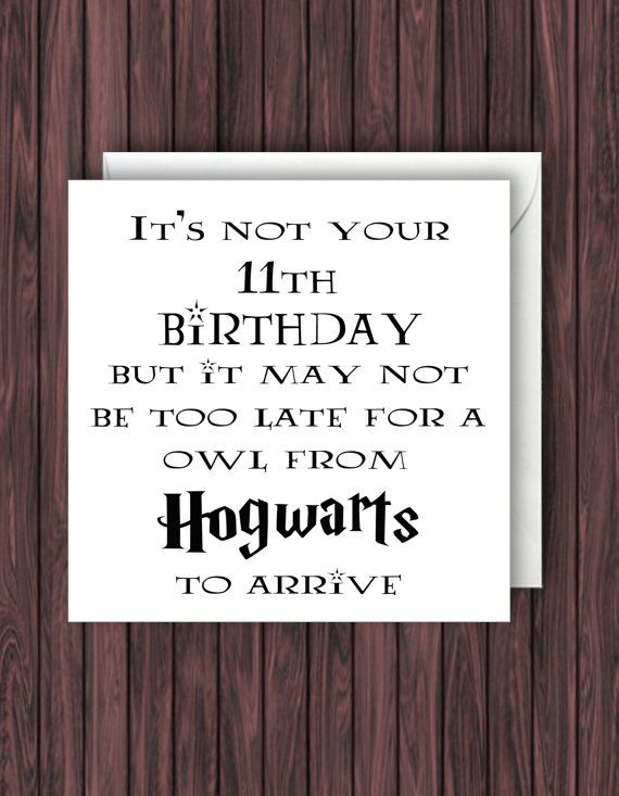 Vaak Hogwarts Letter. Harry Potter Birthday door TheDandyLionDesigns @XG85