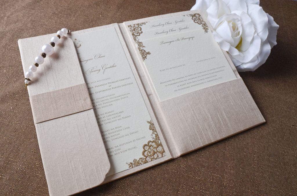 Mark & June Wedding Invitation | Custom Invitations by ...