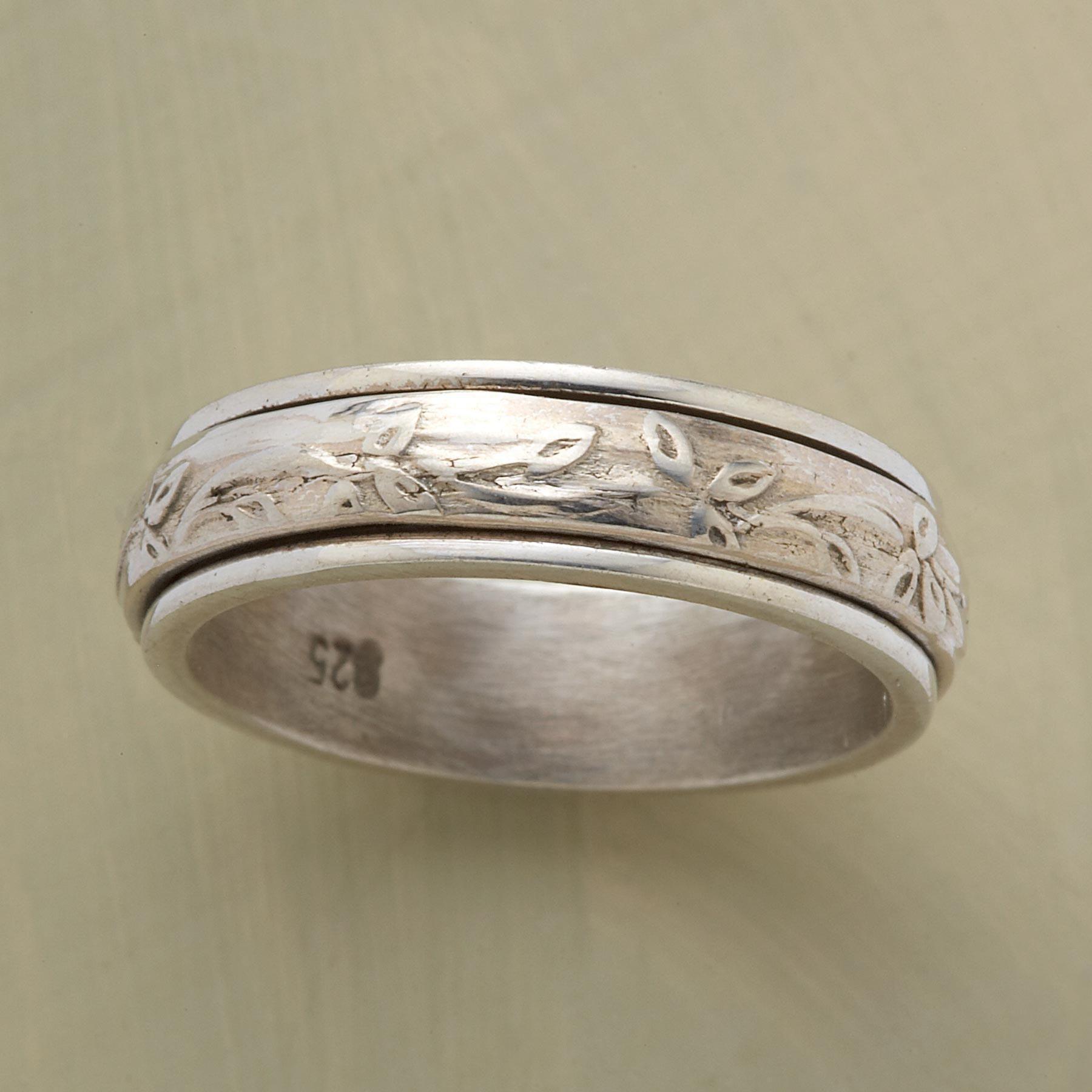 Serenity Ring Rings Spinner Rings Rings Handmade Rings