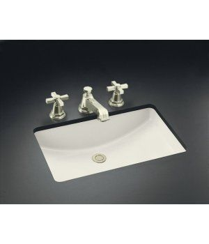 Kohler K 2215 0 Ladena Undercounter Lavatory Sink White Faucetdepot Com Undermount Bathroom Sink Bathroom Sink Lavatory Sink