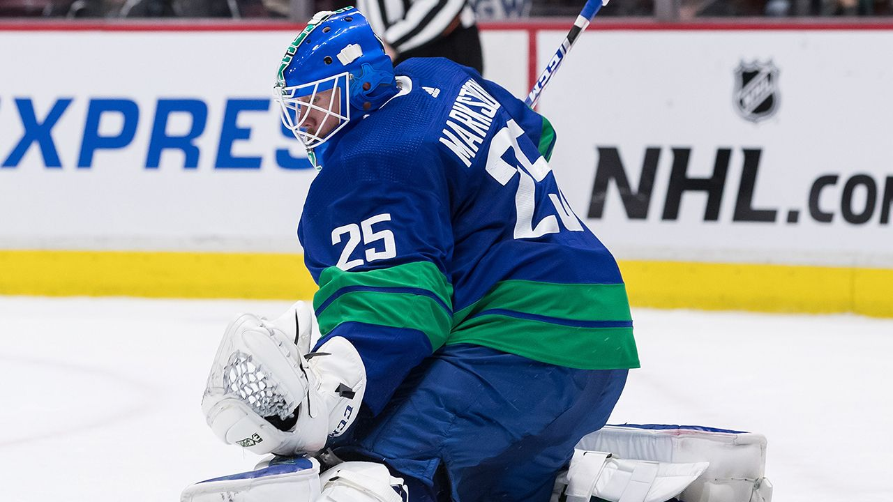 Jacob Markstrom Made To Sweat For 100th Career Win Vs Kings Canucks Nhl Vancouver Canucks