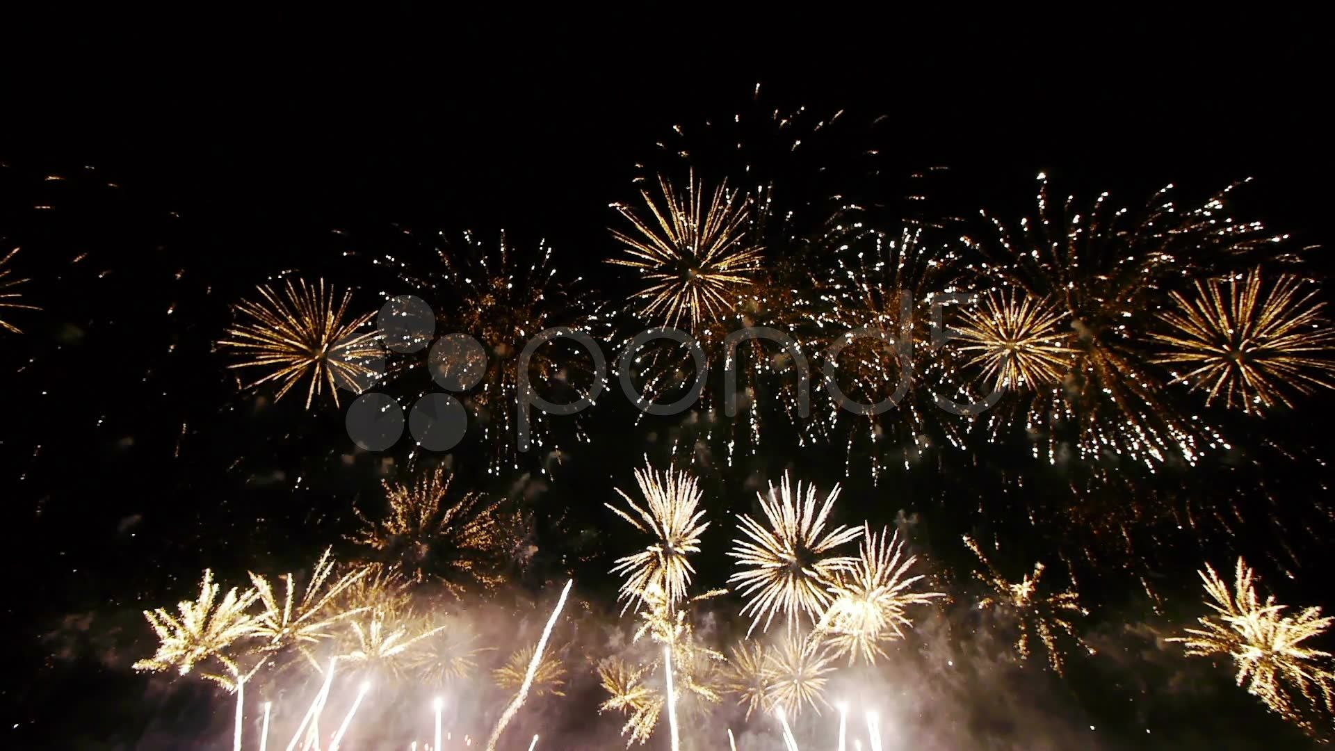Hd Fireworks Wide Angle View Stock Footage Wide Fireworks Hd Angle Wide Angle Fireworks Views