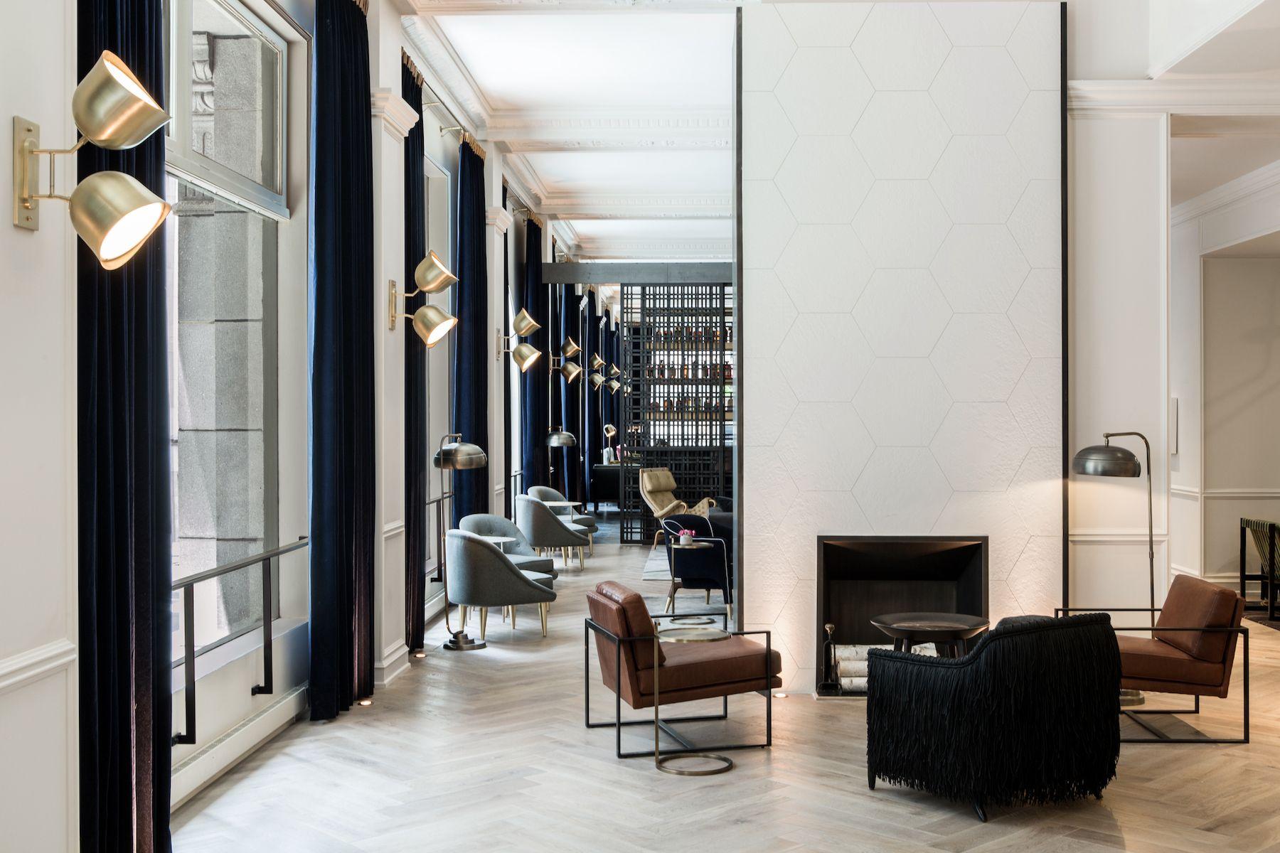 The Gray hotel - Chicago, USA   交誼廳   Pinterest   Möbel und Designs