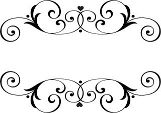 Name Wedding Ornaments Wedding Ornament Stencil Patterns Borders For Paper
