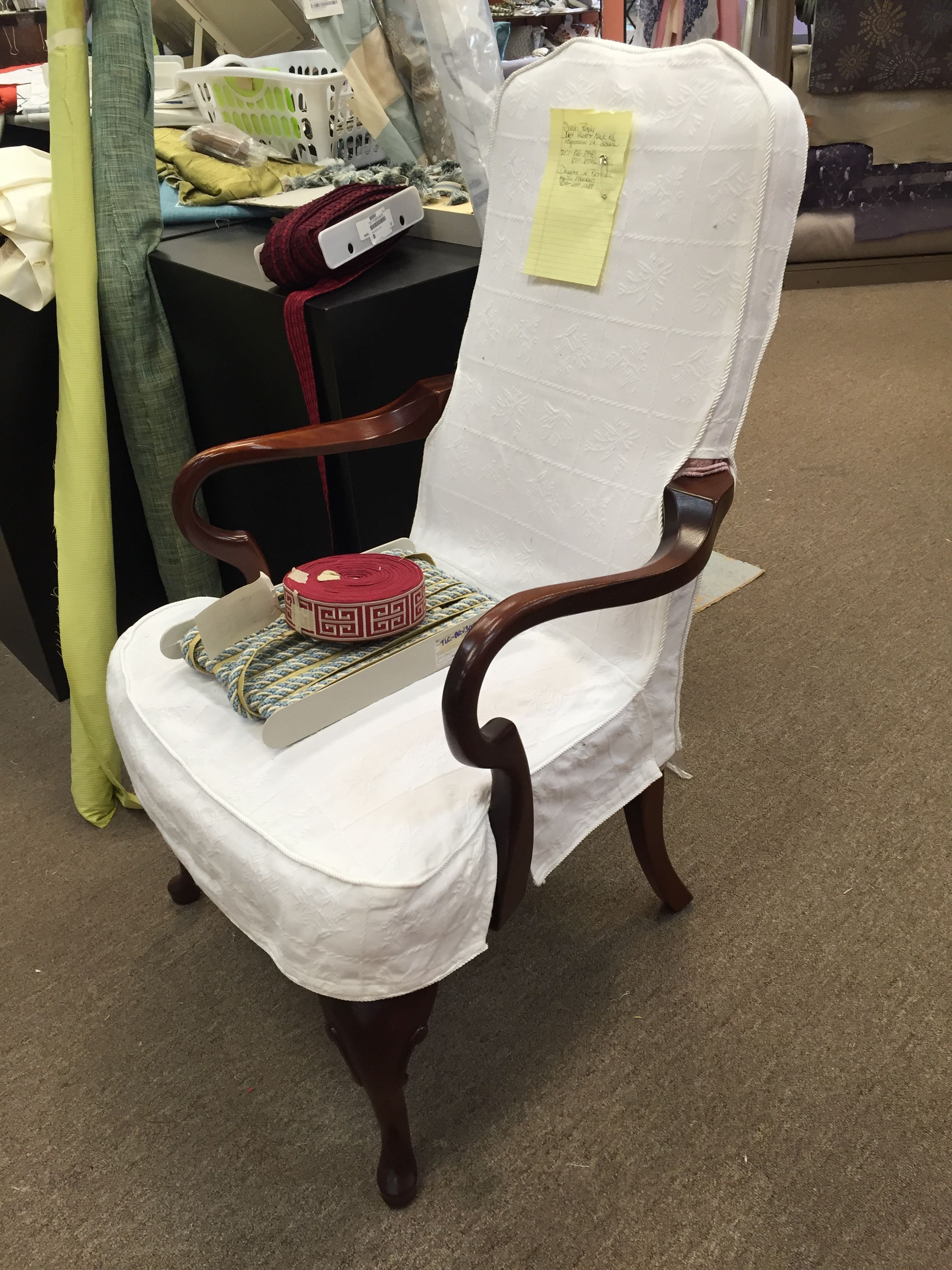 Groovy Queen Anne Chair Slipcover In 2019 Slipcovers For Chairs Gmtry Best Dining Table And Chair Ideas Images Gmtryco