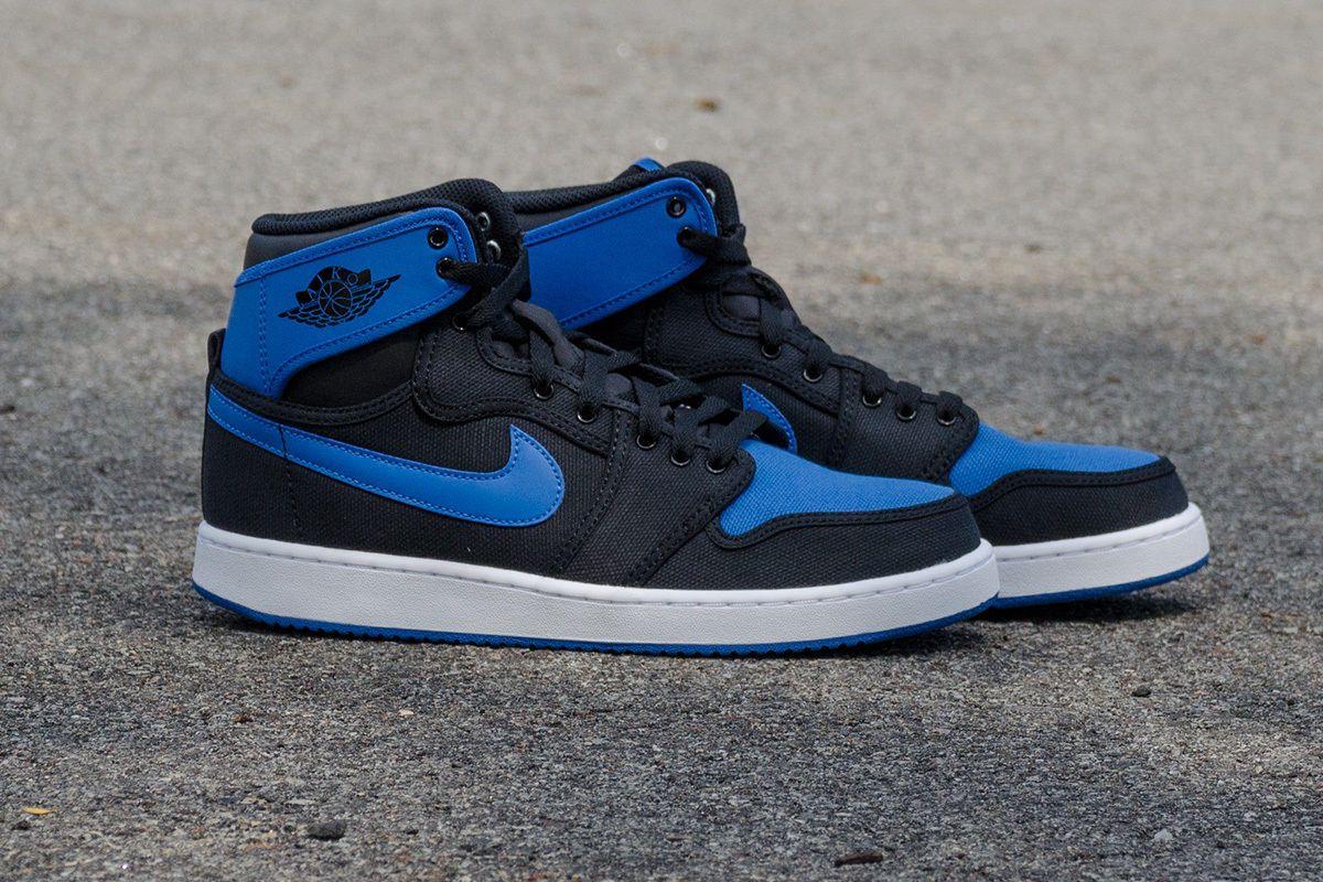 low priced 8c5ee c5de4 Nike Air Jordan 1 KO AJKO High OG Black Sport Blue Royal concord