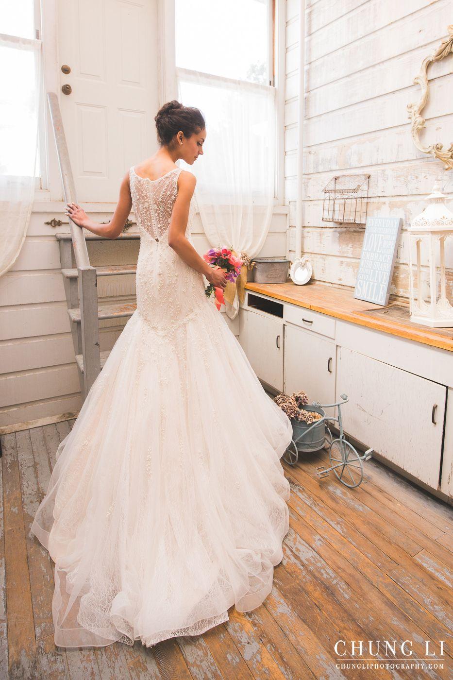 San Francisco Rental Wedding Dress Photoshoot