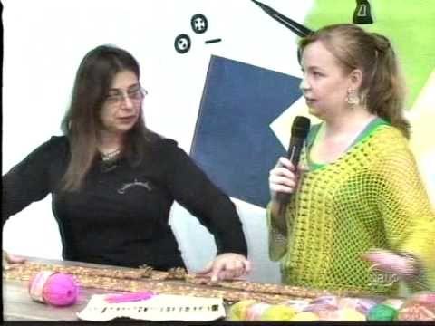 Blusa em crochê de grampo com Cisne Hobby - YouTube