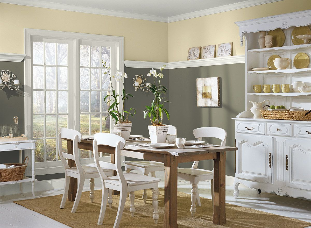 Rendered Garden Wall Ideas, Fun Informal Dining Room Green Dining Room Dining Room Colors Dining Room Paint Colors