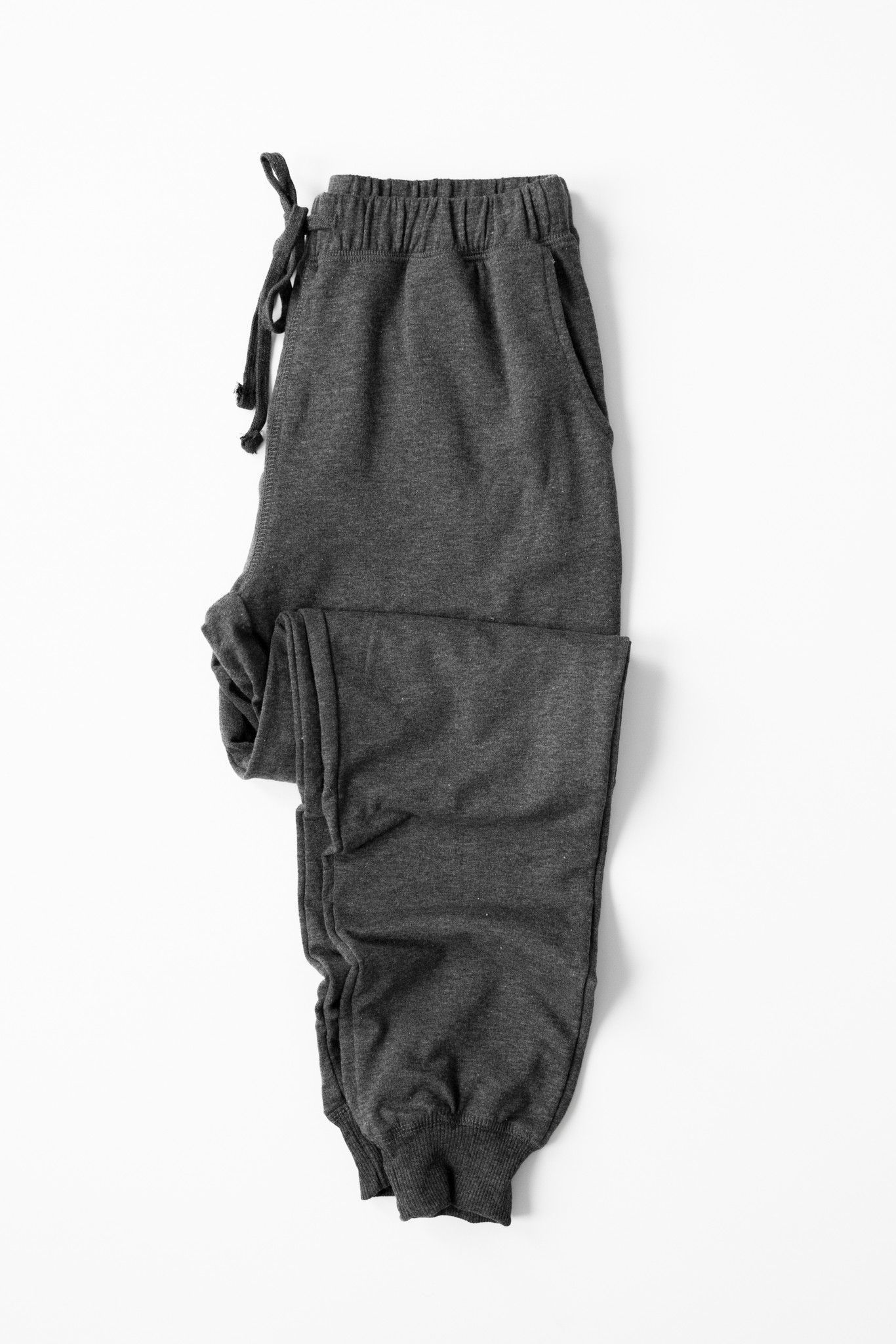 French Terry Knit Joggers