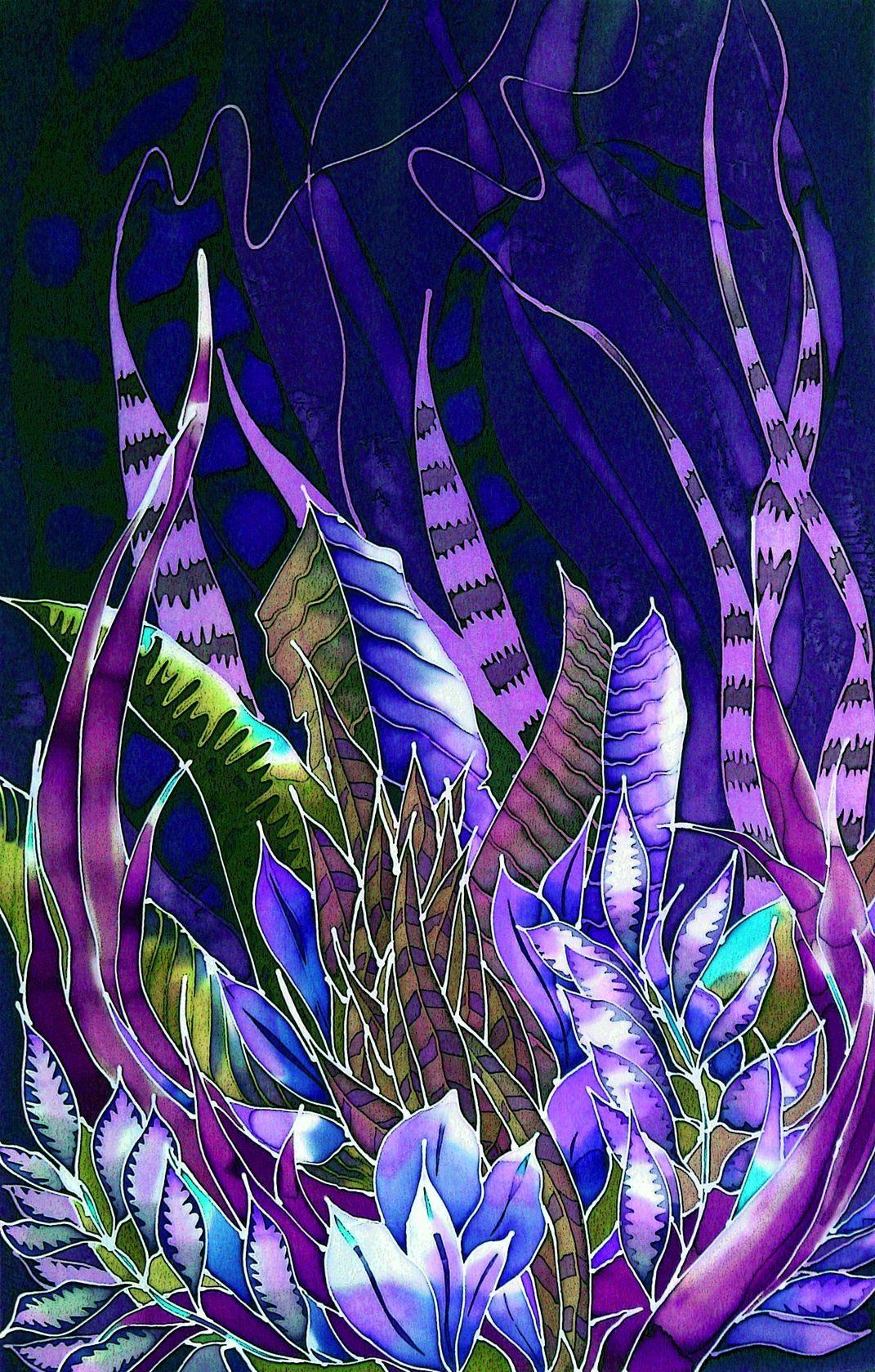 shawls by julie jennings at Coroflot.com | идеи для батика ...