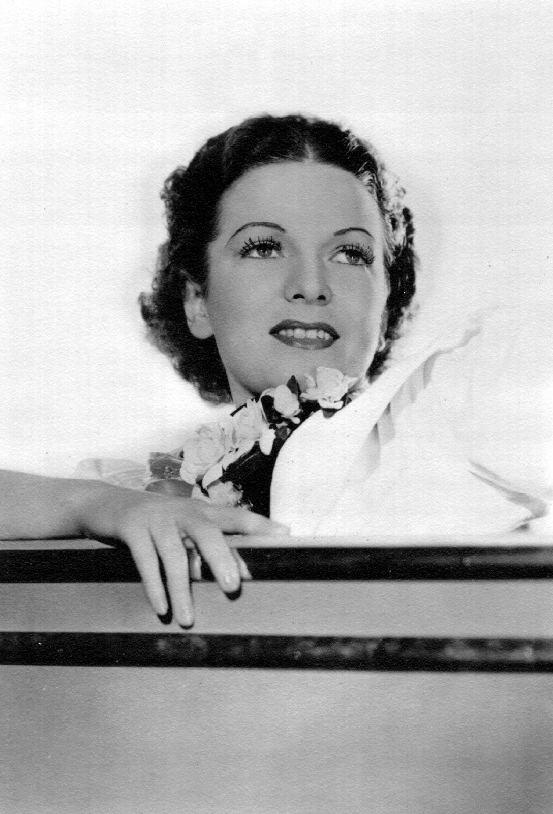 Cleveland And Nyc Radio Star Marie Deville Sometime After 1930